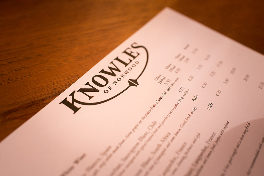 Knowles-Menu